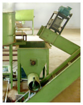 Crusher used in Mosquito coil making process